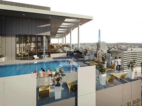 洛杉矶市中心第五大道豪华公寓
